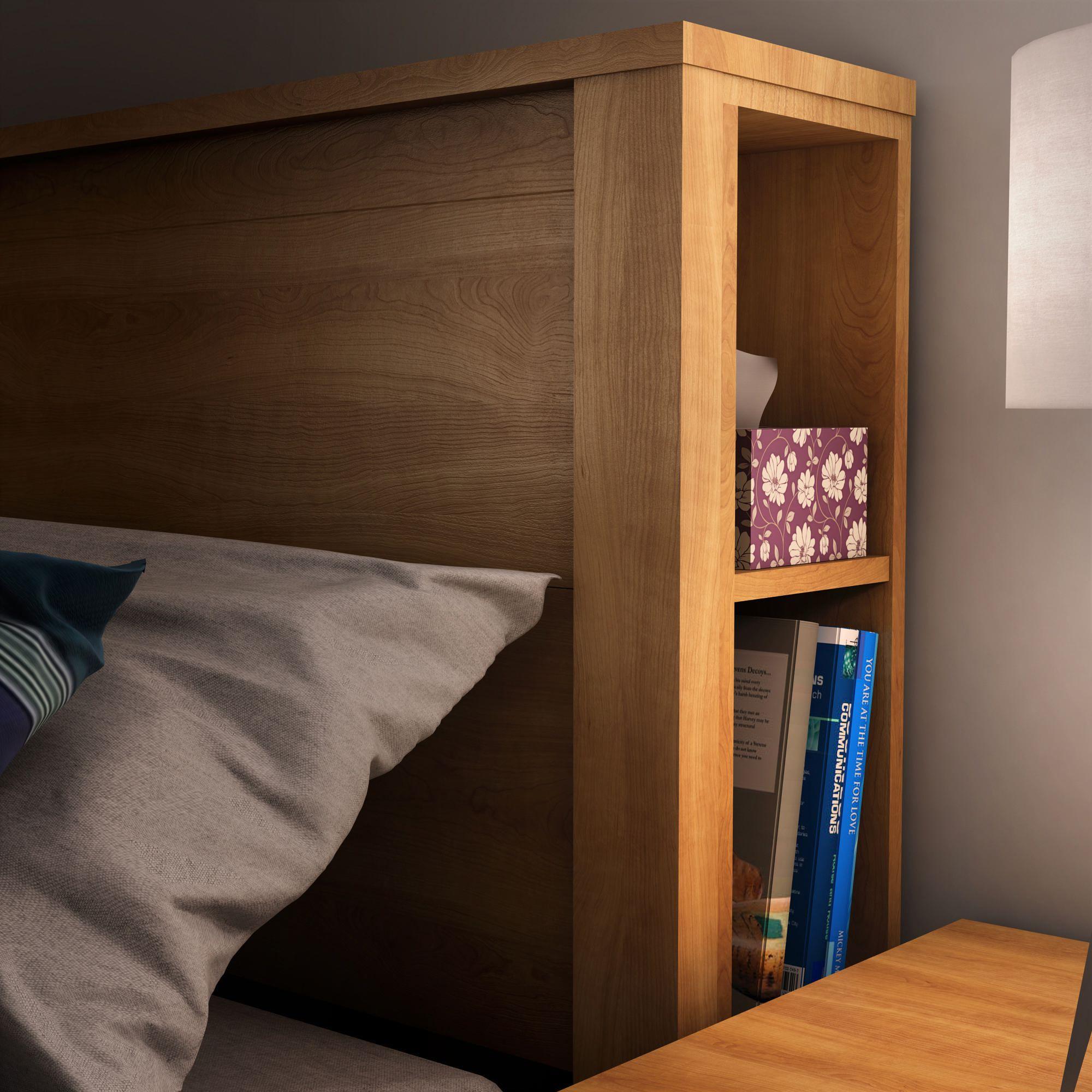 lit avec rangement tete de lit fashion designs. Black Bedroom Furniture Sets. Home Design Ideas