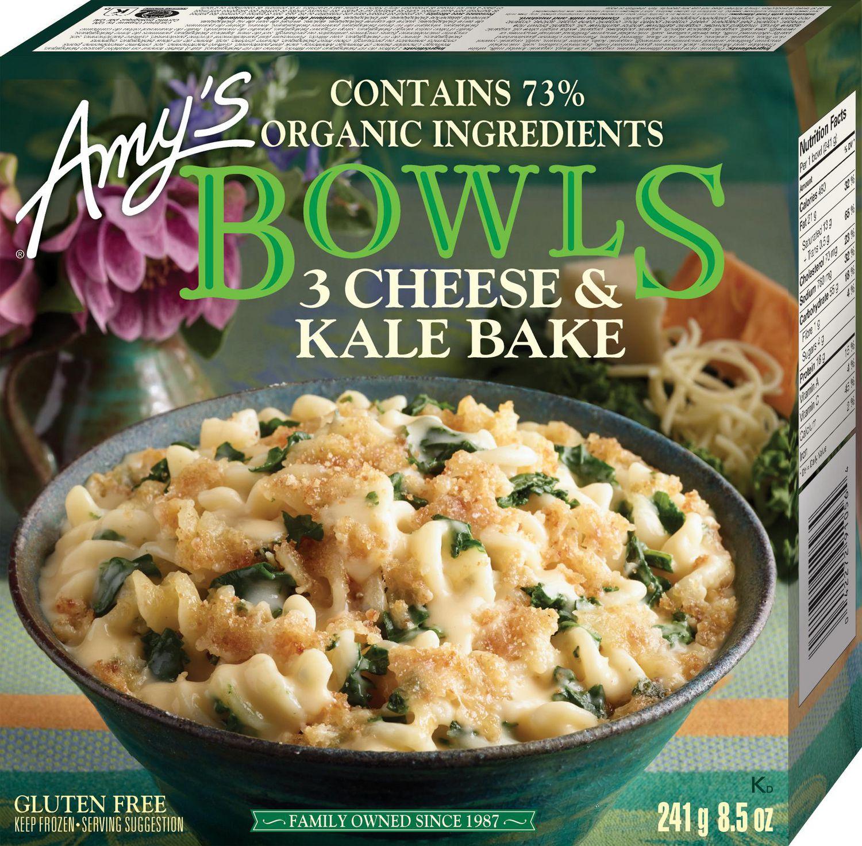 Amys kitchen amys bowls 3 cheese kale bake gluten free walmart canada