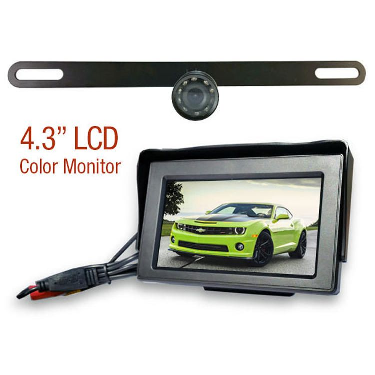License Plate Wired Rear View Camera | Walmart Canada