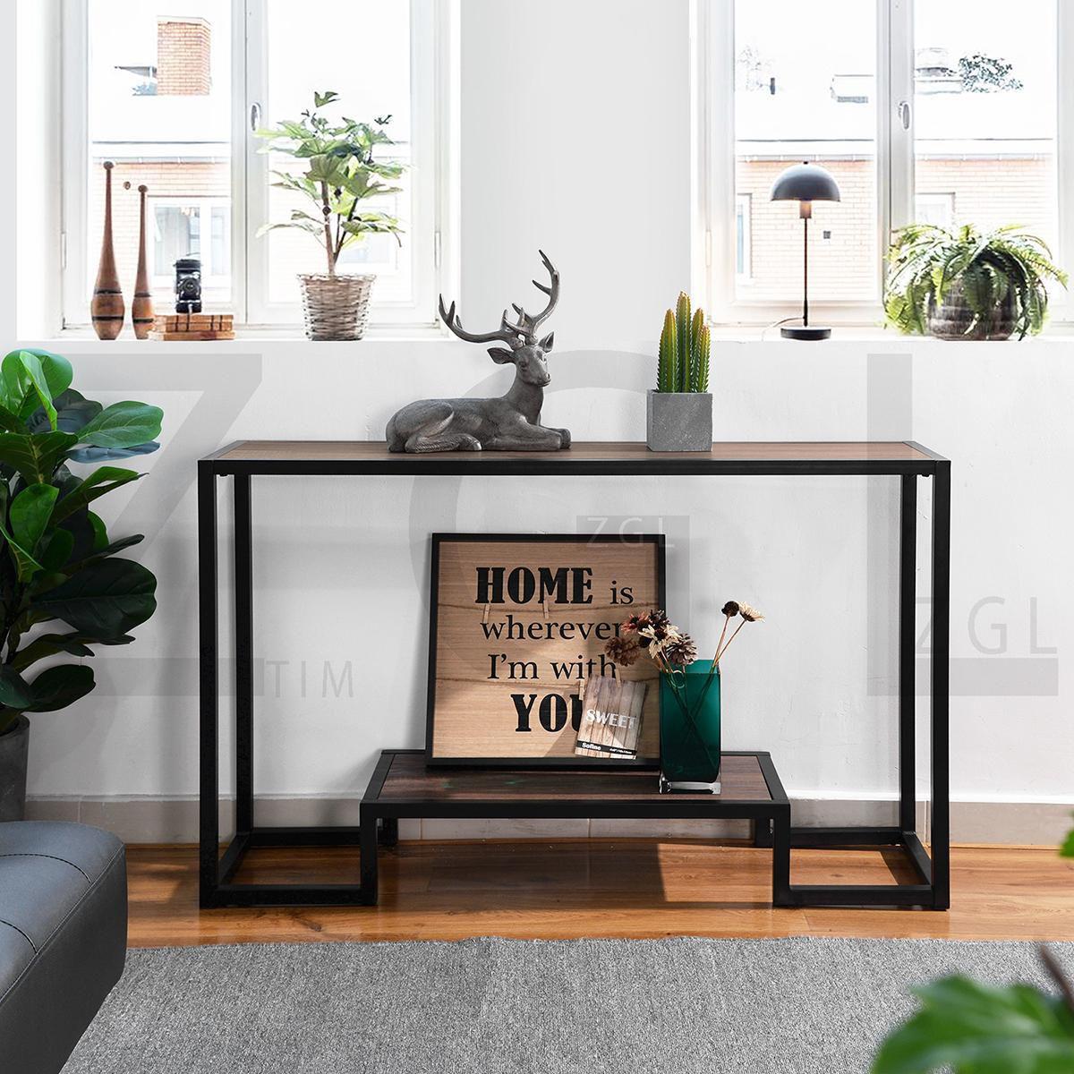living room billee 4724'' console table  walmart canada