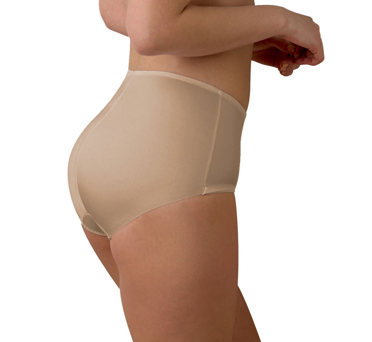 311bad7726 Cupid intimates cupid intimates womens knit shapewear center seam front  panel brief pack of walmart canada