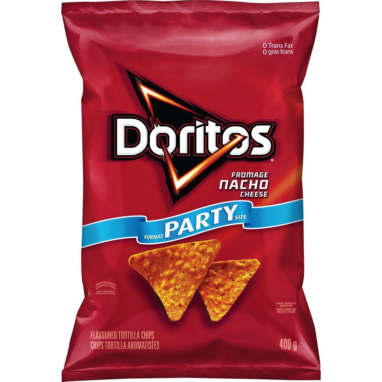 Doritos Nacho Cheese Tortilla Chips | Walmart Canada