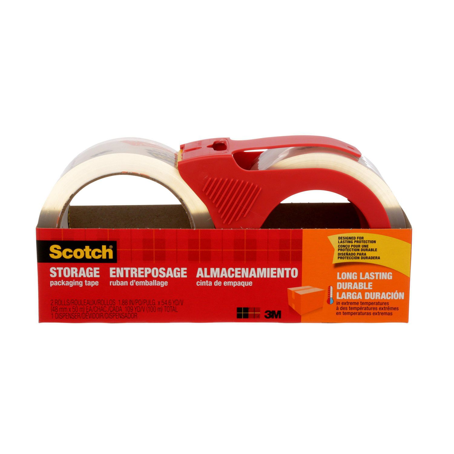 ScotchR 3650 2RD ESF Moving And Storage Packaging Tape