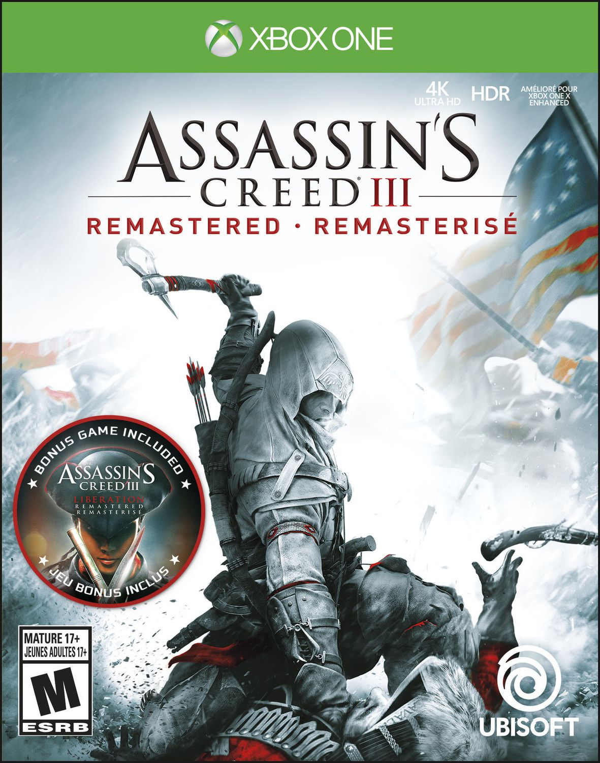 Assassin S Creed Iii Remastered Xbox One Walmart Canada