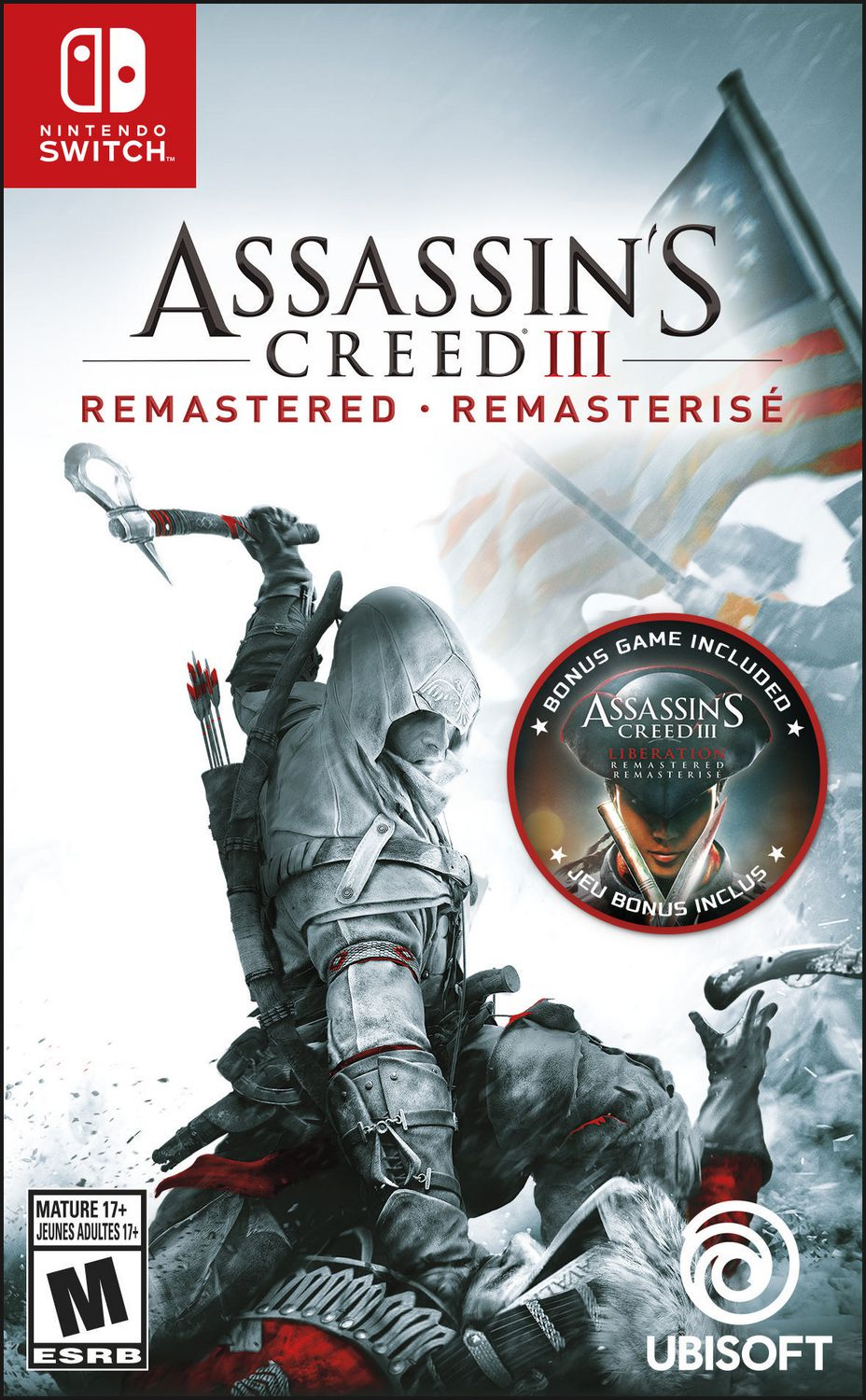 Assassin S Creed 3 Remastered Nintendo Switch Walmart Canada
