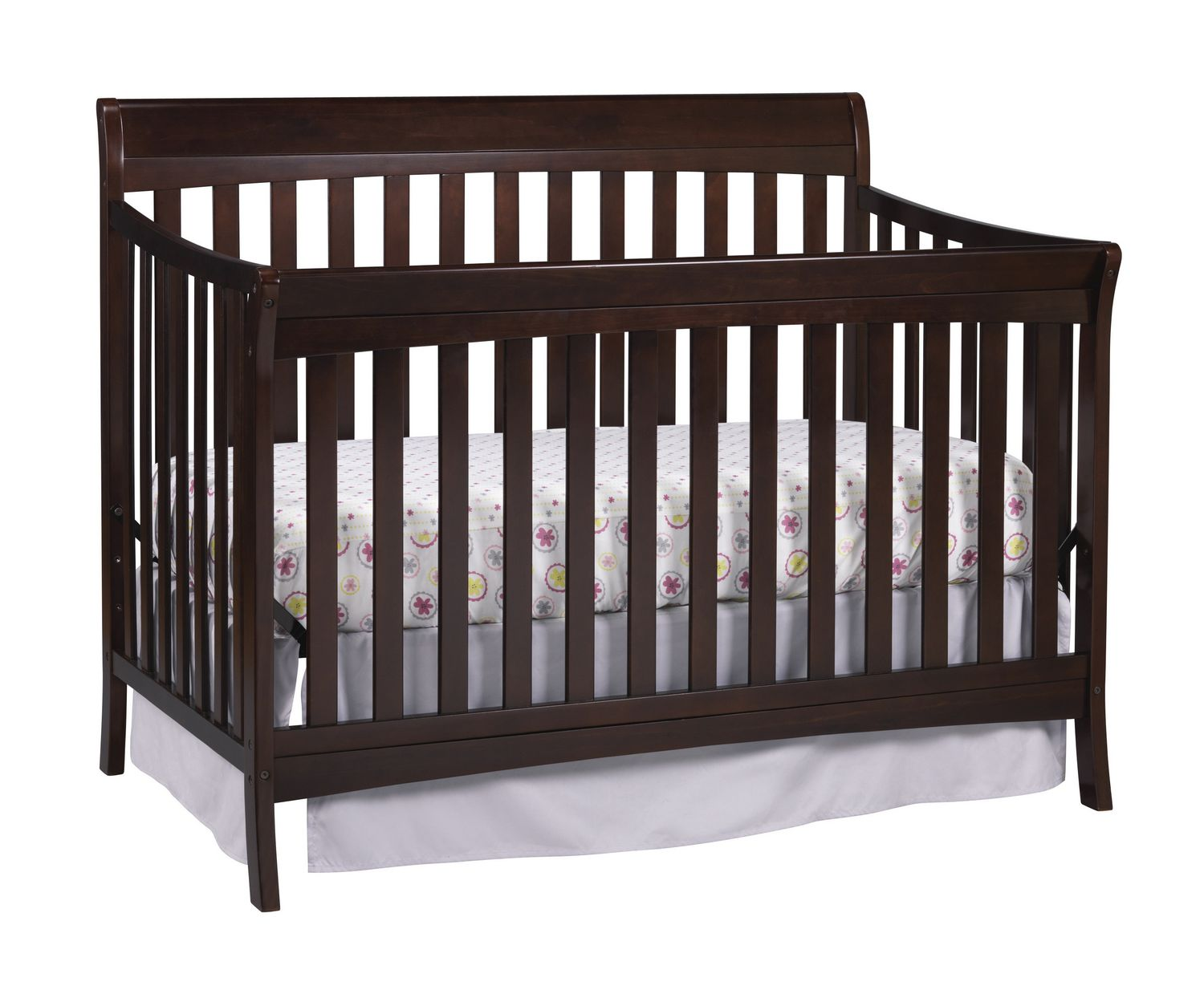 Storkcraft Avalon 4 In 1 Convertible Crib Espresso Walmart Canada