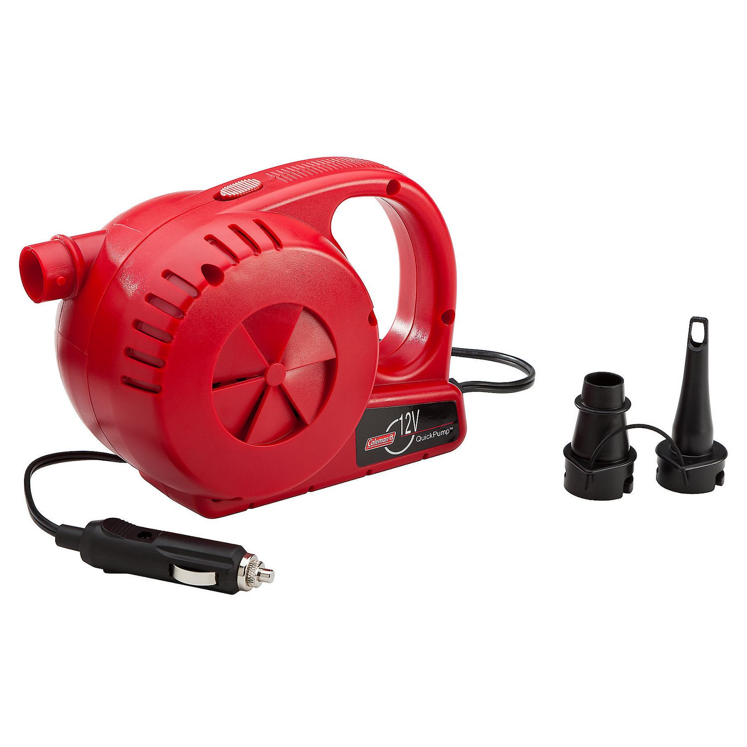 Coleman 12V Electric Pump Inflate Deflate Air Bed Inflatable Camping Car Beach