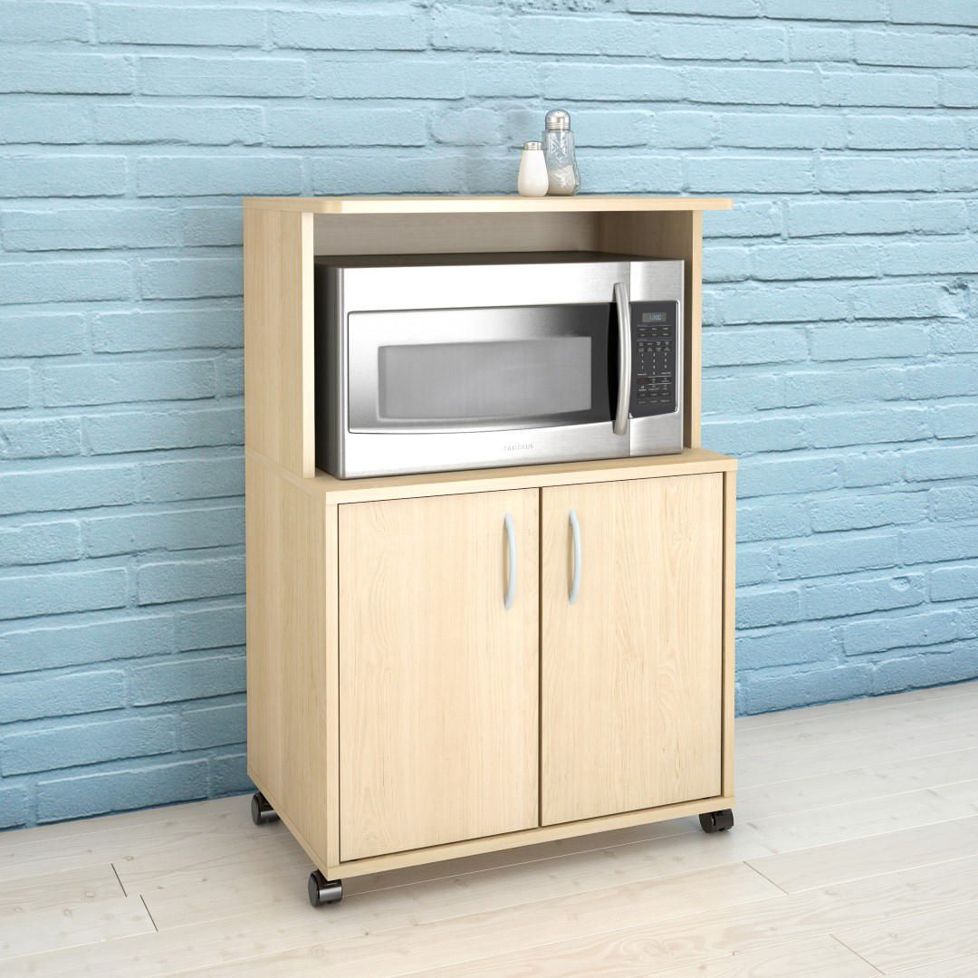Microwave Cart, Natural Maple #599 | Walmart Canada