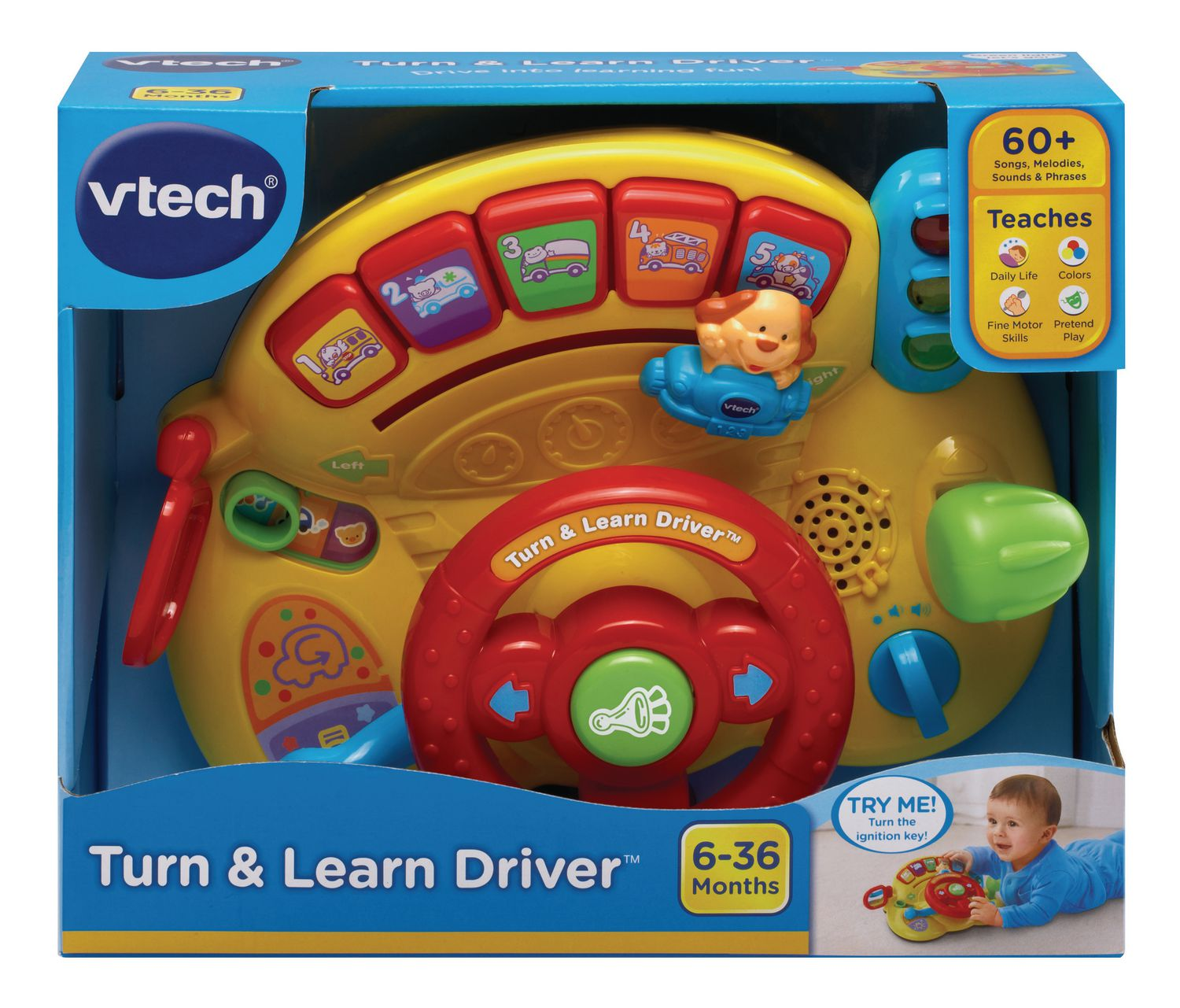 VTech Turn & Learn Driver English Version