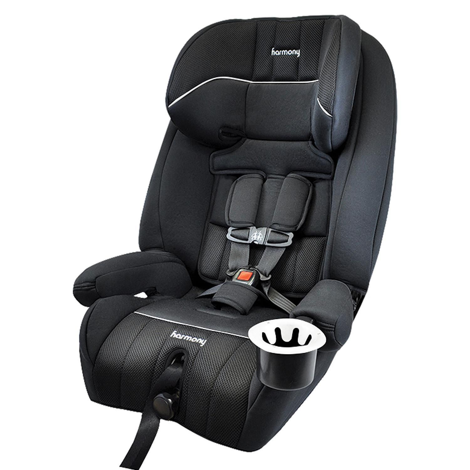 Harmony Defender 360° 3-in-1 Combination Deluxe booster car seat - best booster car seat