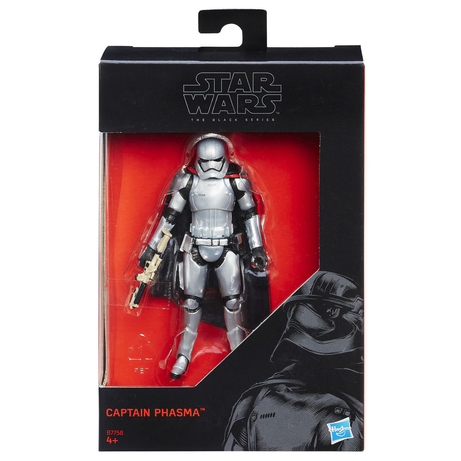 Star Wars The Black Series 3 75 Inch Captain Phasma Action