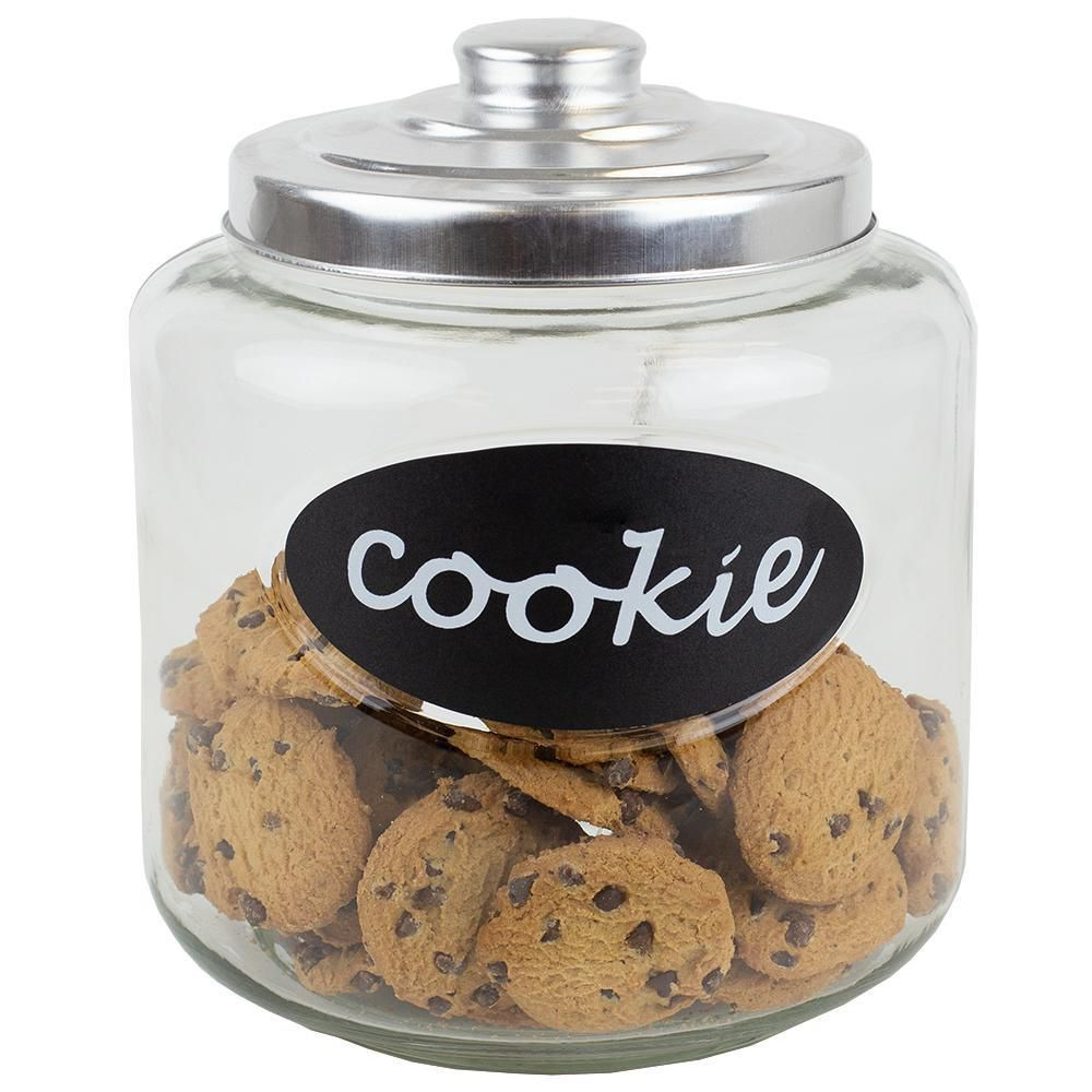 Glass Cookie Jar With Metal Top Walmart Canada