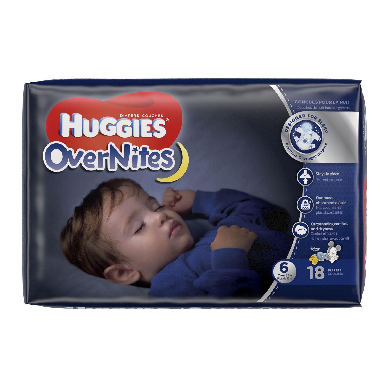 Couches Huggies Overnites Emballage Jumbo Walmart Canada
