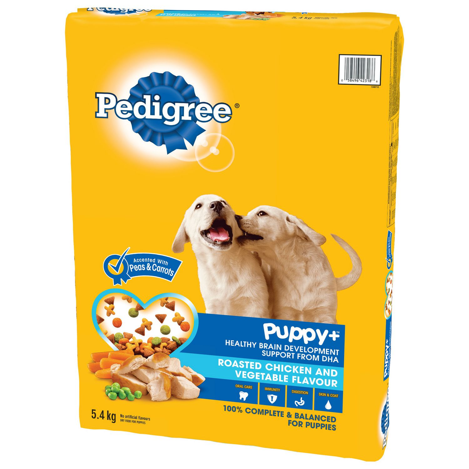 PEDIGREE® PUPPY+™ Roasted Chicken And Vegetable 5.4kg