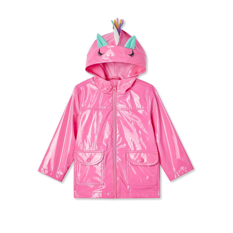 2b6eaf82 George Toddler Girls' Unicorn Raincoat - image 1 of 2 zoomed image