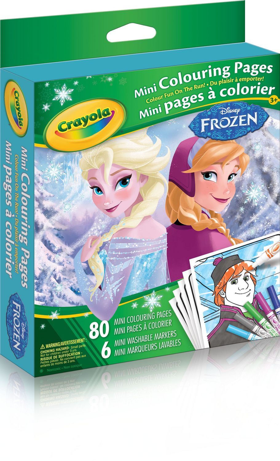 Crayola Frozen Mini Colouring Pages | Walmart Canada
