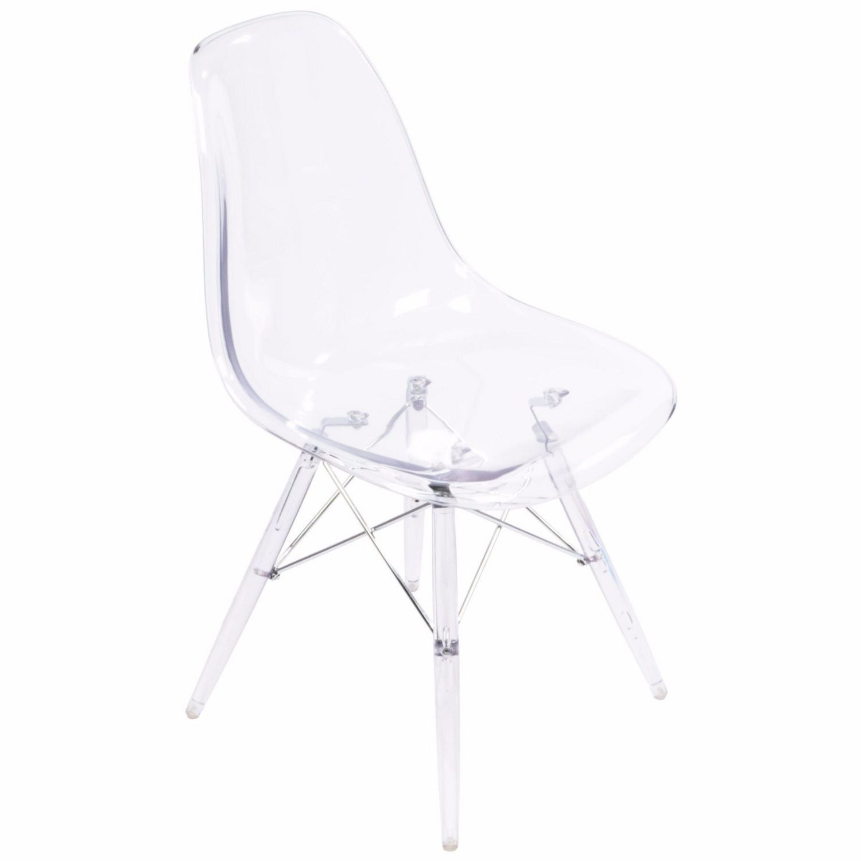 Chaise Transparente Eames Dsw De Nicer Furniture Walmart Canada