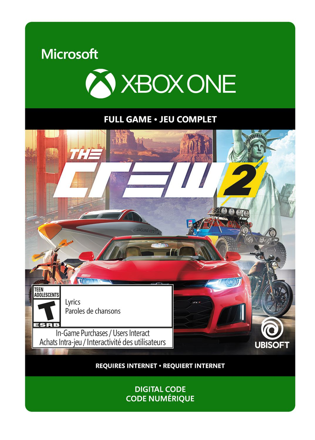 Xbox One The Crew 2 (Digital Download)