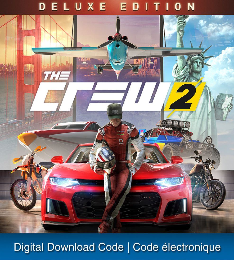 PS4 THE CREW 2 DELUXE EDITION (Digital Download) | Walmart Canada