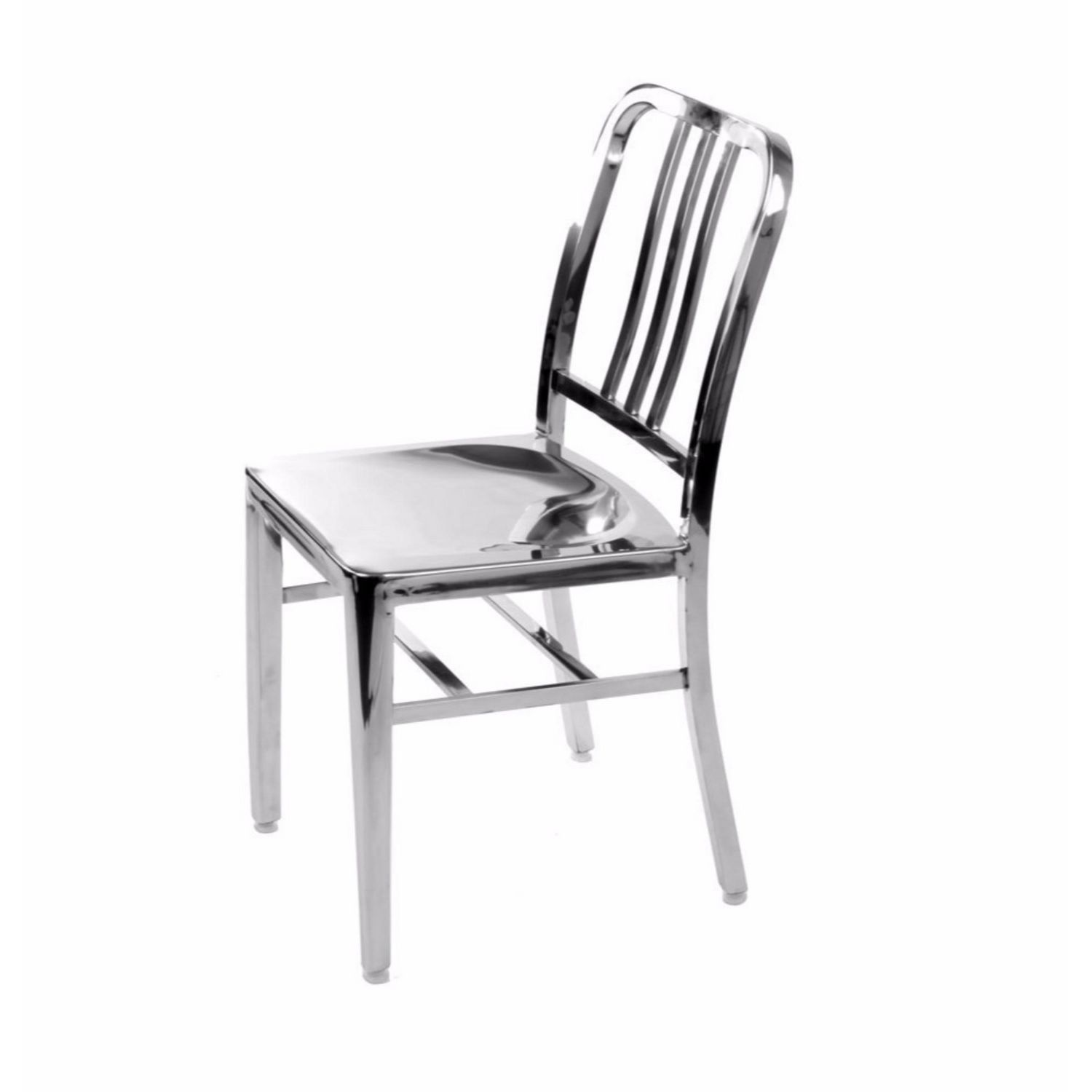 Nicer Furniture Stainless Steel Navy Chair