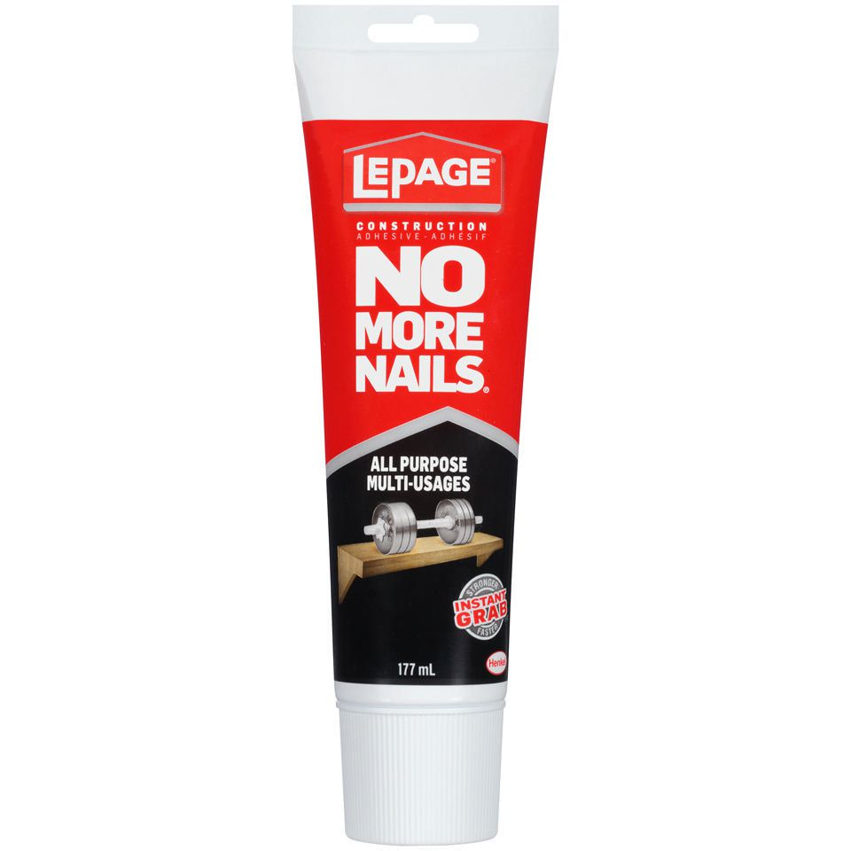 LePage No More Nails All Purpose Instant Grab Construction Adhesive ...