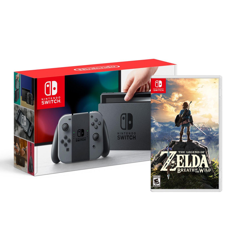 Nintendo Switch Console The Legend Of Zelda Breath Of The Wild Nintendo Switch Walmart Canada