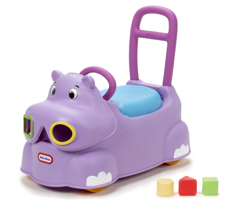 Little Tikes Scoot Around Animal Riding Toy Hippo
