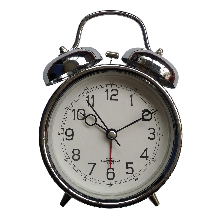 hometrends Retro Metal Alarm Clock | Walmart Canada