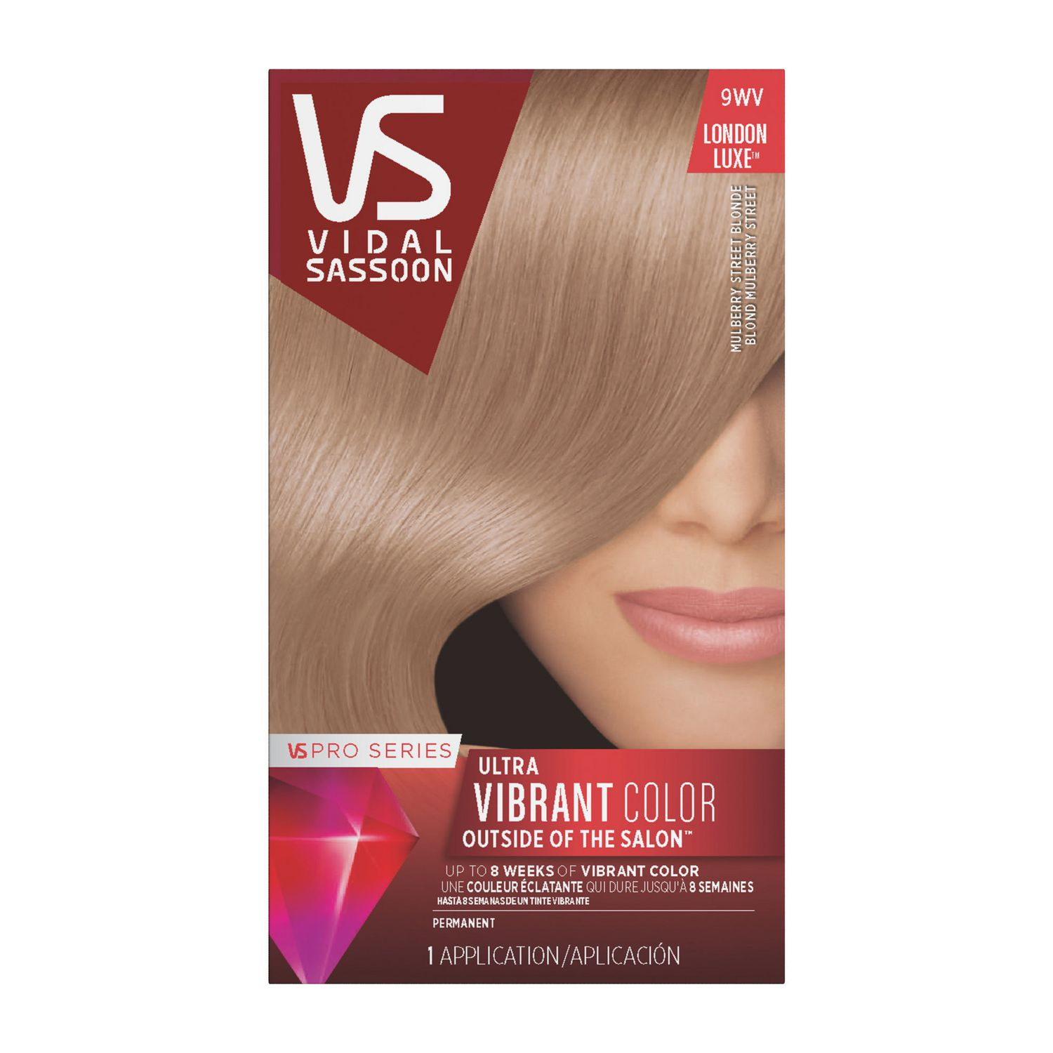 Vidal Sassoon Pro Series Permanent Hair Colour Walmart Canada