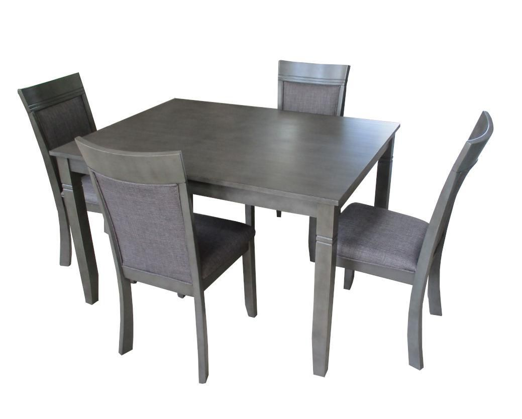 K Living Nellie Solid Wood Dining Chairs With Fabric Upholstery Set Of 2 Walmart Canada