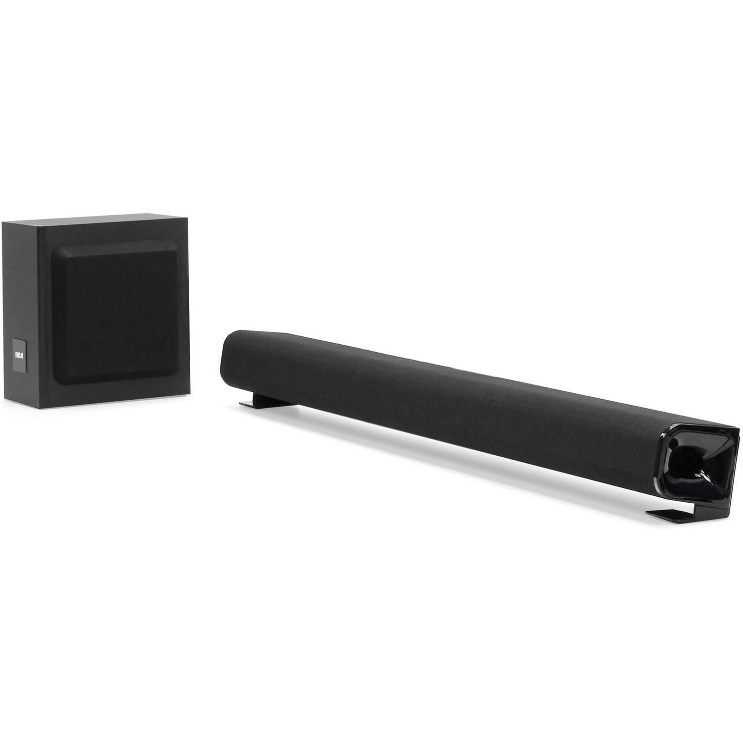 Rca 37 Bluetooth Soundbar With Subwoofer Walmart Canada Tone Control Include Out