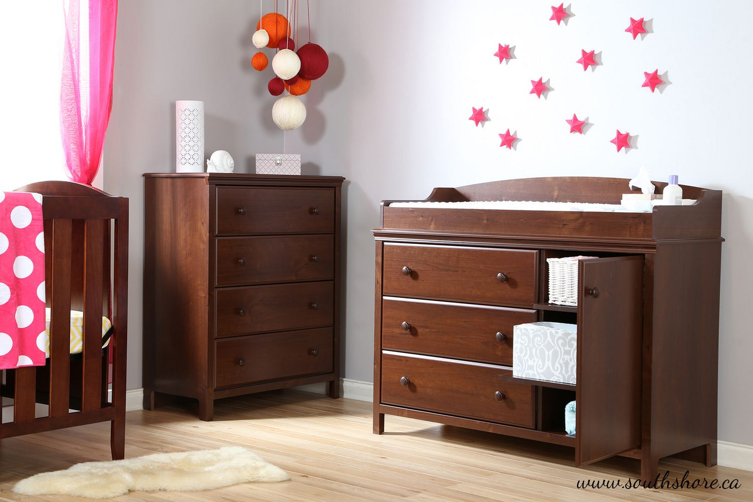 davinci meadow convertible double drawer shipping crib brook set piece dresser in white signature nursery free and