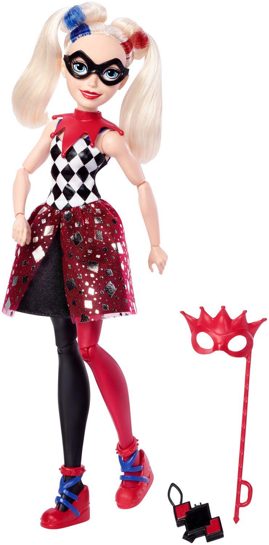 "DC Super Héros Girls Harley Quinn Action Doll 12/"""