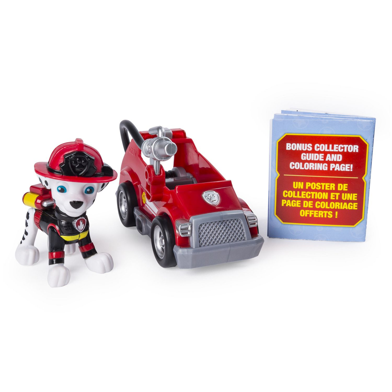 Paw Patrol Ultimate Rescue Marshall Mini Fire Cart Walmart