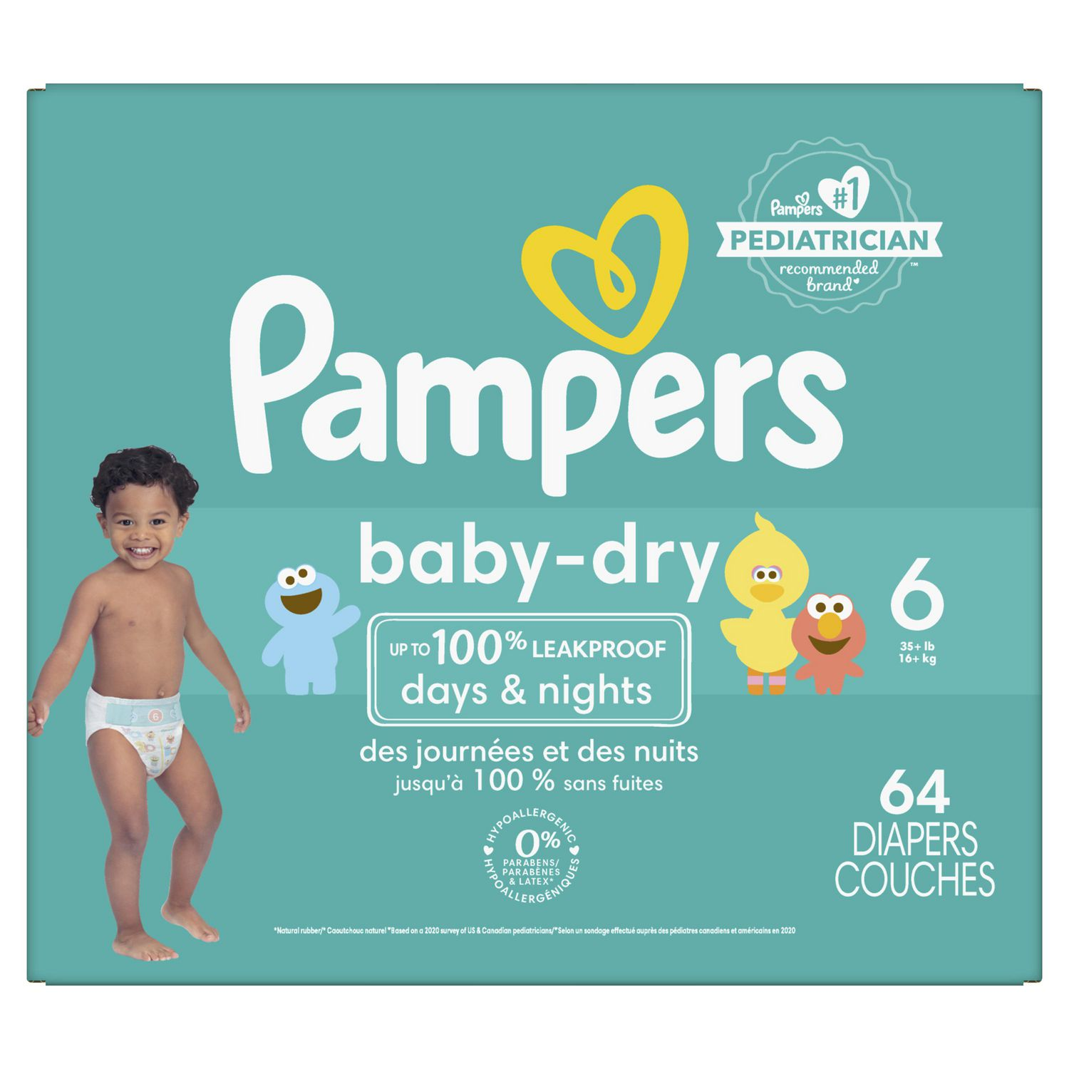 Pampers Baby Dry Diapers Super Pack Walmart Canada