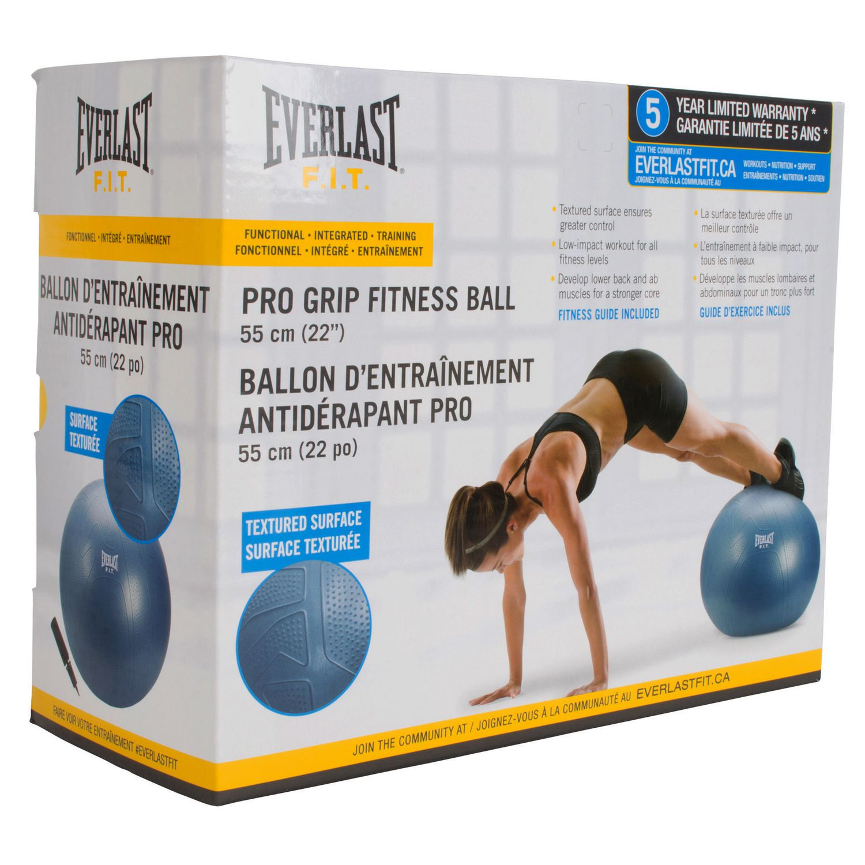 "Everlast PRO Grip Fitness Ball 55 Cm (22"")"