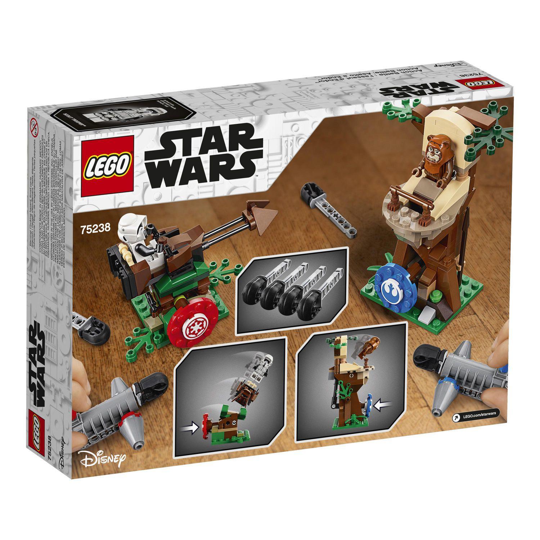 75238 LEGO Star Wars Action Bataille Endor Assault 7 Ans