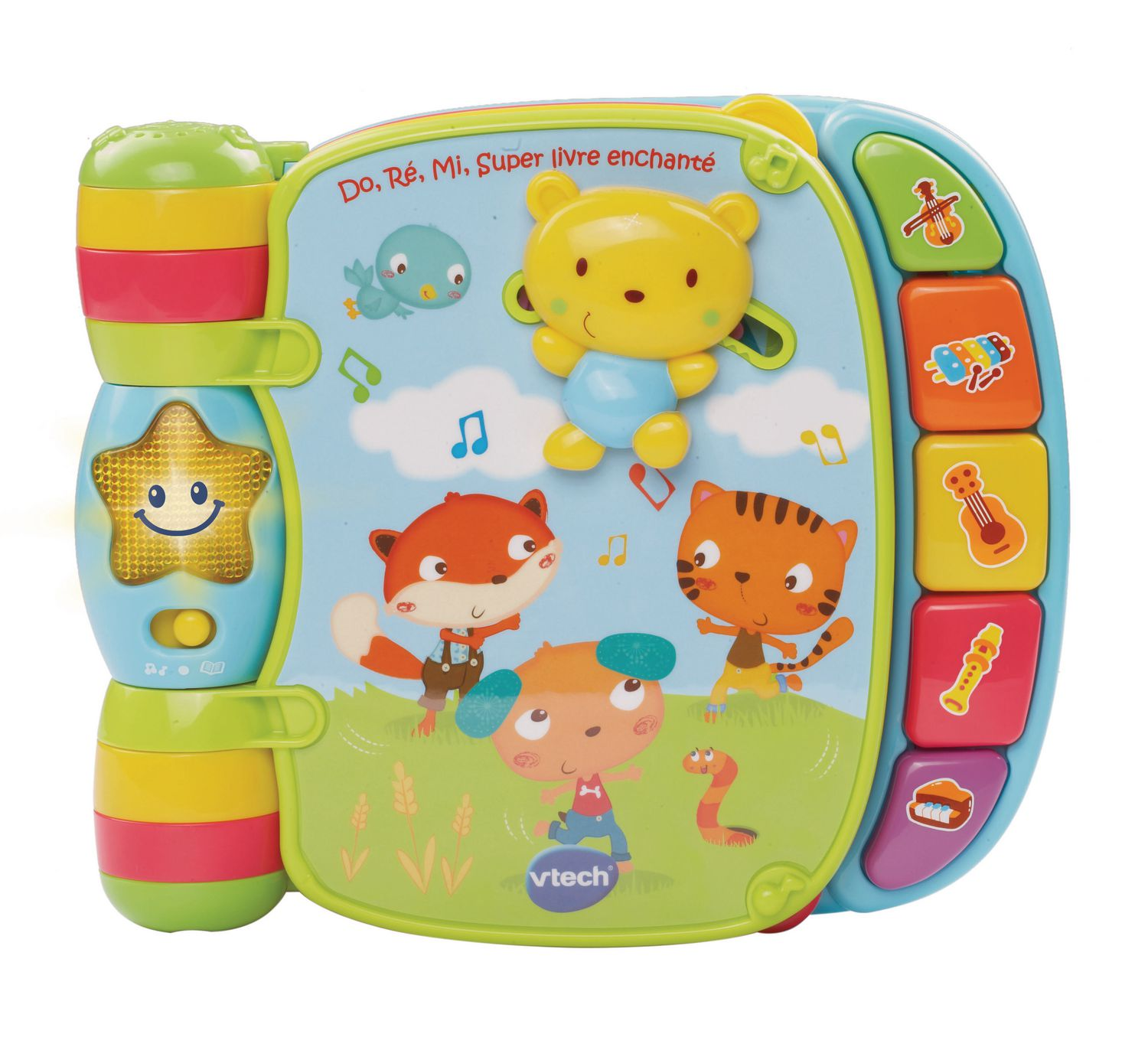 Vtech Musical Rhymes Book French Version