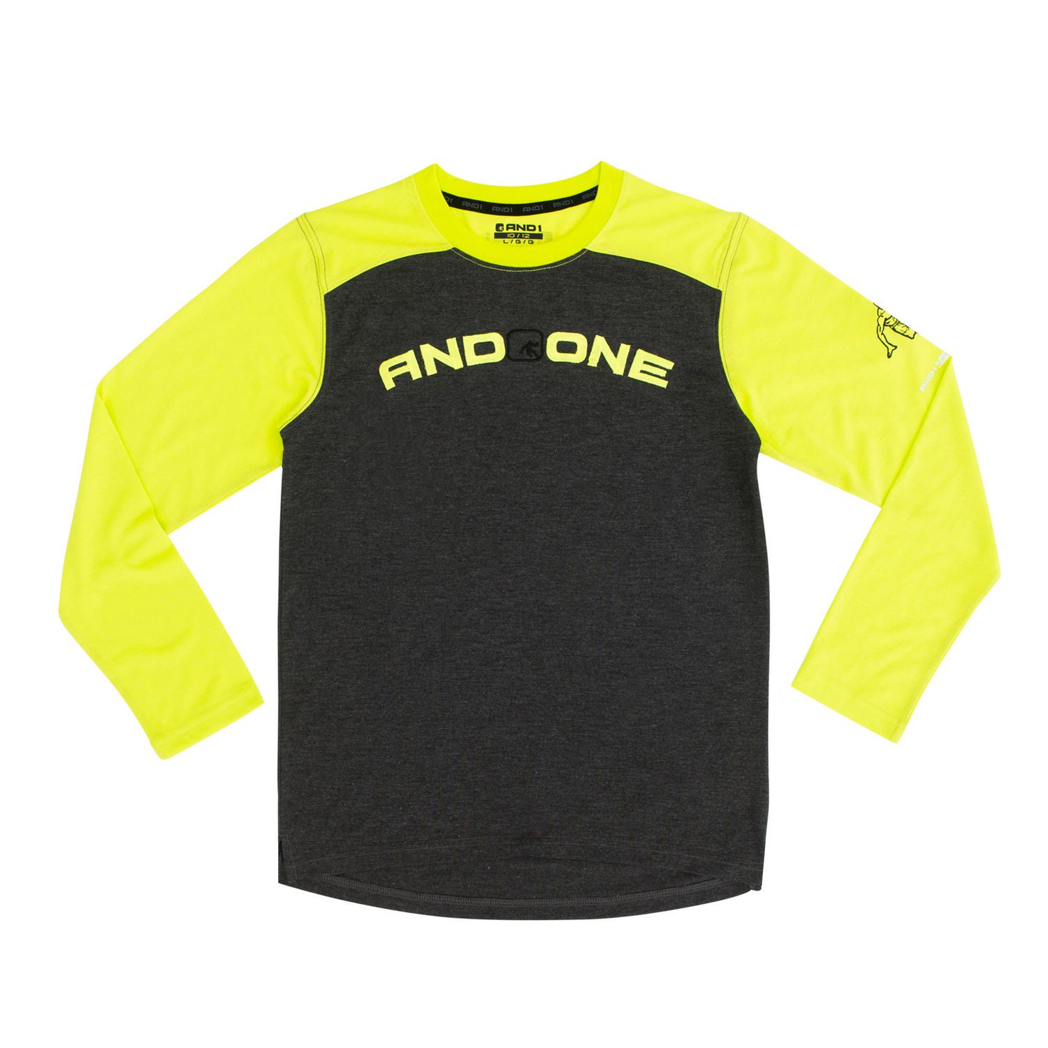 And1 Boys Player One Full Sleeve Top Walmart Canada