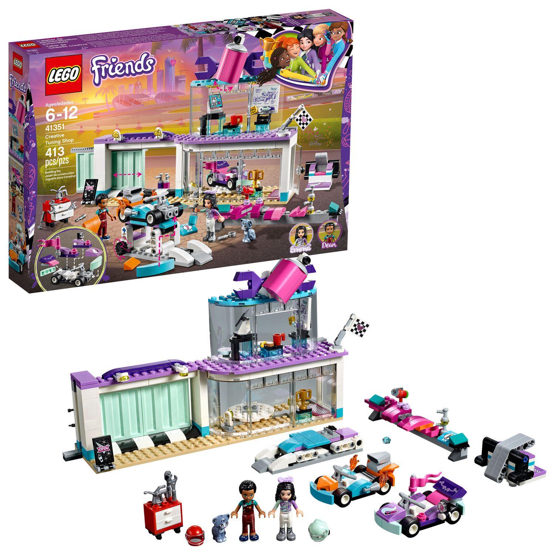De Friends Lego L'atelier Automobile41351 Personnalisation 76Ygvfyb