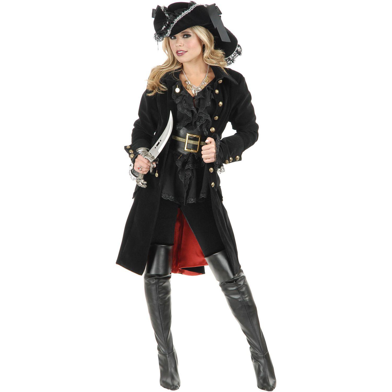 Brand New Elegant Victorian Vixen Lady Adult Costume