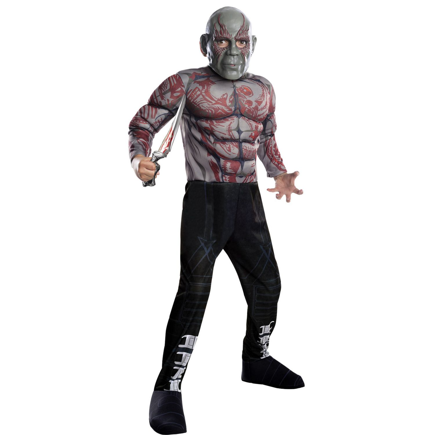 Brand New Guardians of the Galaxy 2 Deluxe Drax Adult Costume