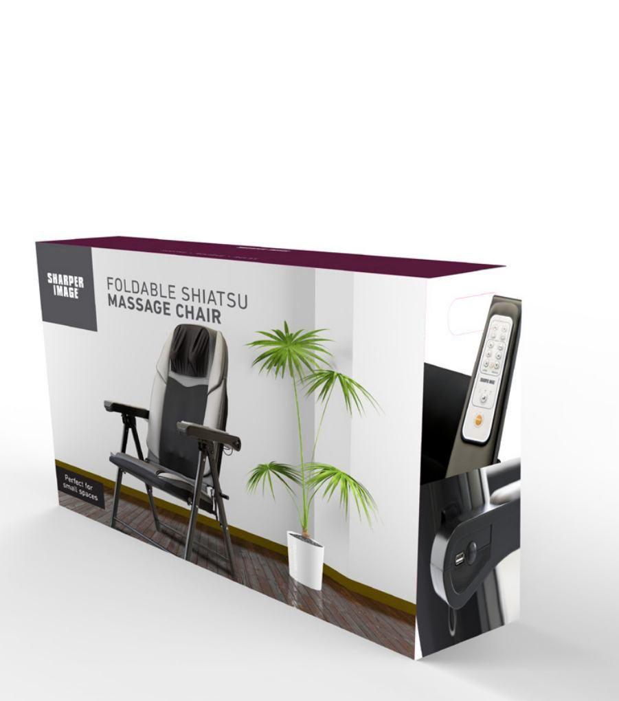 Sharper Image Portable Full Shiatsu Massage Chair Walmart Canada