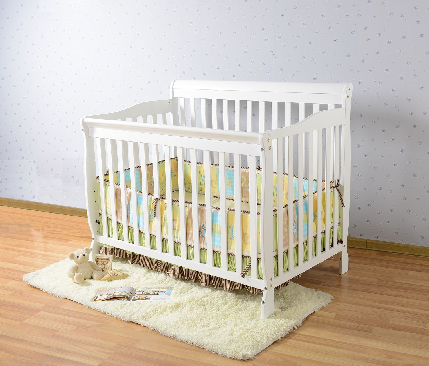 Baby cribs regulations canada - Concord Baby Carson 4 In 1 White Convertible Crib