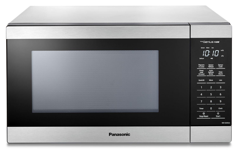 Panasonic Nnsu65ls 1 3 Cu Ft Genius 174 Microwave Oven