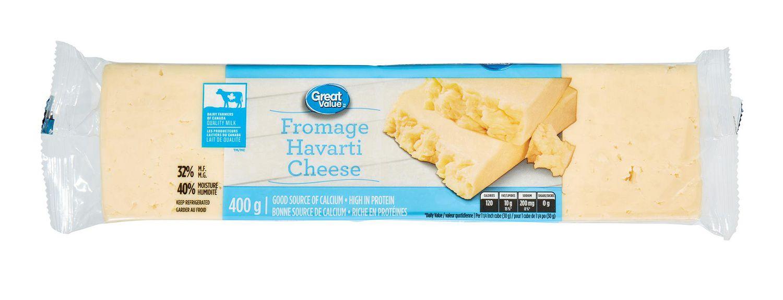 Buy Great Value Havarti Cheese 400g Online Walmart Canada