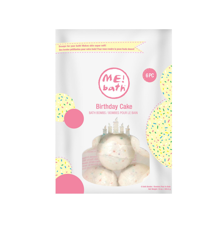 Bath Birthday Cake Bombs