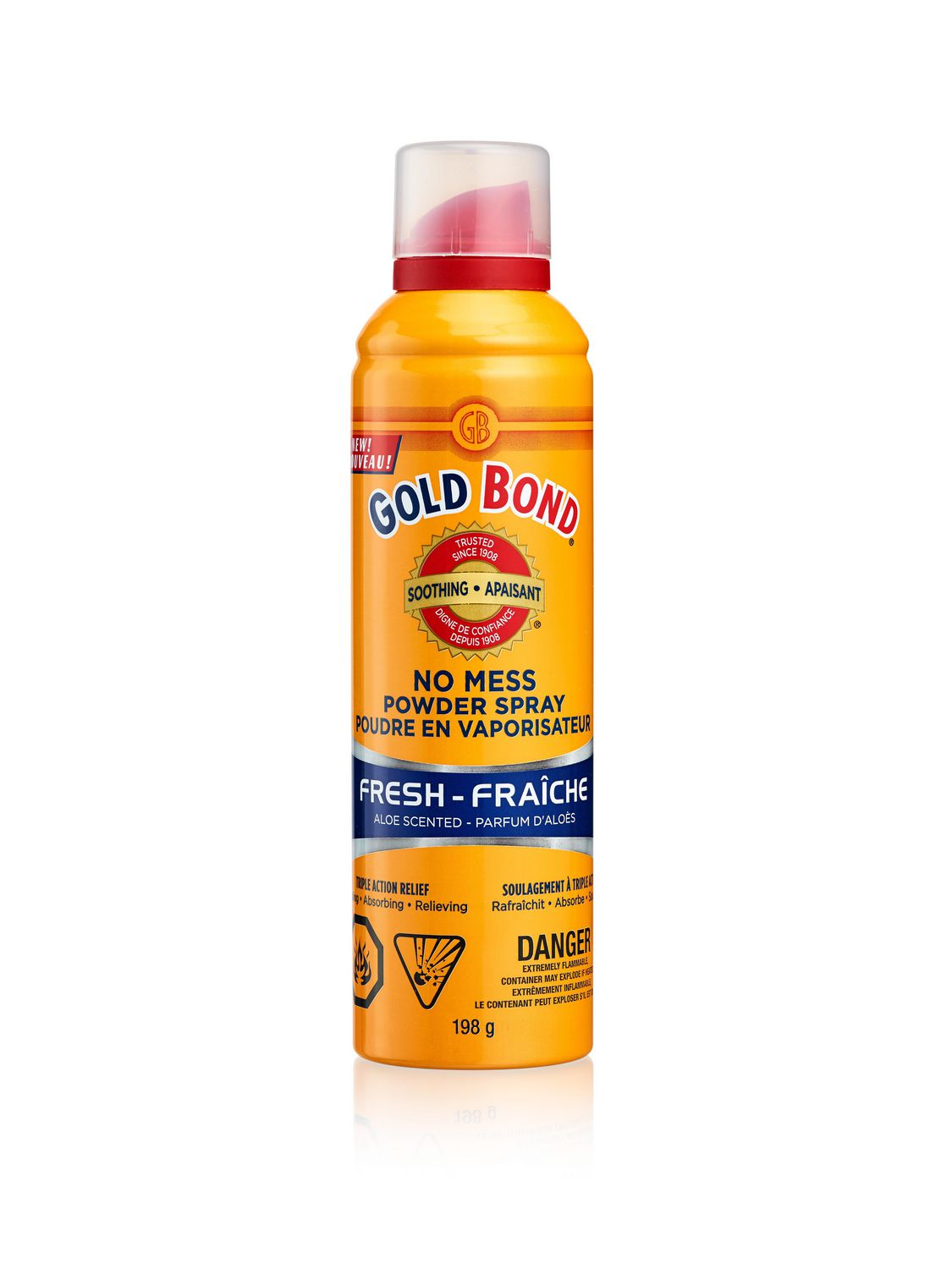 Gold Bond No Mess Powder Spray Fresh Scent | Walmart Canada