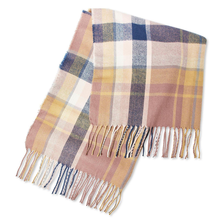 George Women S Plaid Blanket Scarf Walmart Canada
