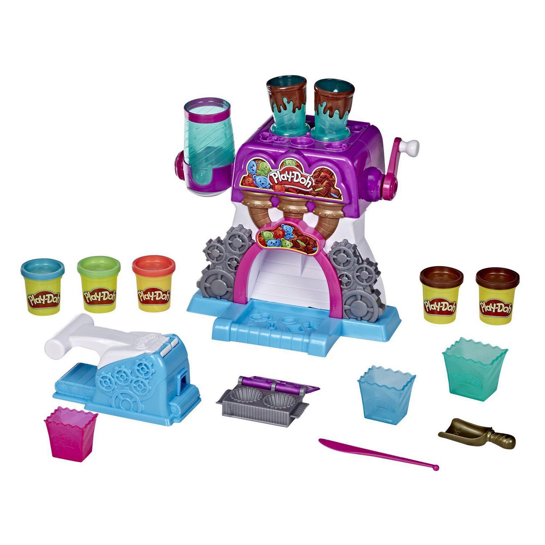 Chocolaterie avec 5 pots de pâte Kitchen Creations par Play-Doh